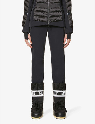 Toni Sailer Victoria flared high-rise sports-jersey ski trousers