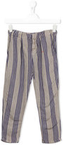 Bobo Choses striped trousers - kids - Linen/Flax/Viscose - 5 yrs