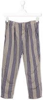 Bobo Choses striped trousers - kids - Linen/Flax/Viscose - 8 yrs