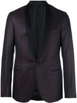 Lanvin shiny blazer - men - Silk/Lurex/Polyester/Wool - 46