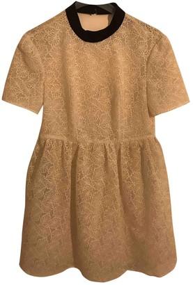 DANIELE CARLOTTA White Lace Dress for Women