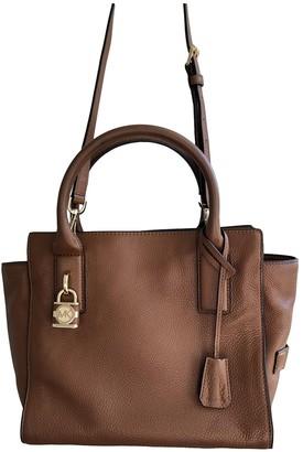 Michael Kors Selma Brown Leather Handbags
