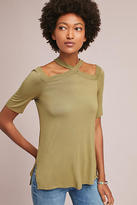 Anthropologie Cross-Strap Tunic Top