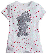 Disney Minnie Mouse Lace Appliqué Tee for Girls - Walt World