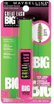 Maybelline Mascara Great Lash Big est (Pack of 18)