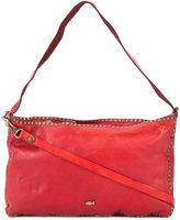 Campomaggi studded trim shoulder bag - women - Leather - One Size
