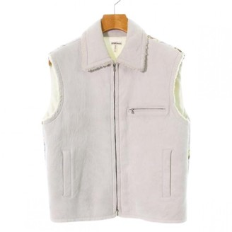 Hermes Grey Leather Jacket for Women