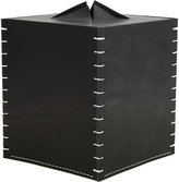 Arte & Cuoio Boutique Tissue Box-BLACK