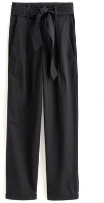 Alex Mill Pleated Peg Pant in Black
