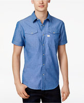 G Star Men's Tacoma Deconstructed Cotton Shirt