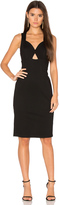 Bobi BLACK Bodycon Dress