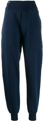 Katharine Hamnett drop-crotch tapered trousers