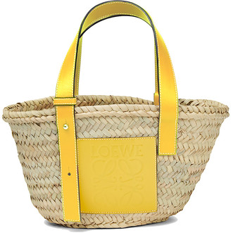 Loewe Basket Small Palm Tote Bag