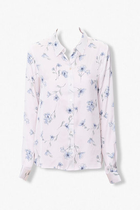Forever 21 Floral Print Shirt