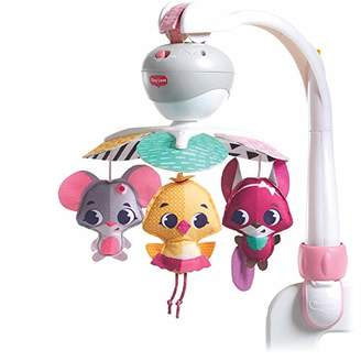 Tiny Love Take-Along Mobile, Baby Mobile and Stroller Activity Toy with Music, Suitable from Birth, 0+ Months, 5 Melodies, Tiny Princess Tales