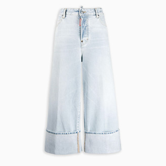 DSQUARED2 Sugar Wash wide leg jeans