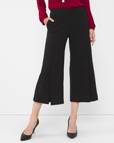 White House Black Market Wide-Leg Cropped Pants