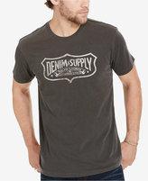 Denim & Supply Ralph Lauren Men's Wide Logo T-Shirt