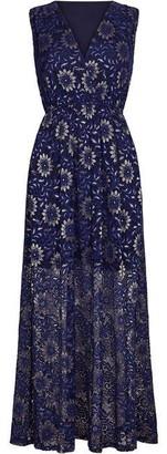 Yumi Lace Floral Maxi Dress