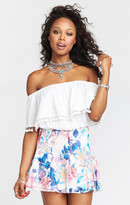 MUMU Skater Stretch Skirt ~ Rosalita