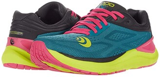 Topo Athletic Ultrafly 3 (Periwinkle/Lime) Women's Running Shoes