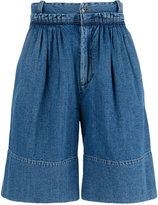J.W.Anderson baggy denim shorts - men - Cotton - 46