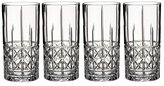 Marquis by Waterford Brady Crystal Highball Glasses, Set of 4