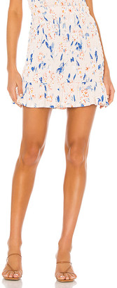 BCBGeneration Smocked Mini Skirt
