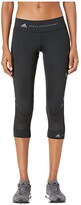 adidas by Stella McCartney Performance Essentials 3/4 Tights EA2207 (Black) Women's Clothing