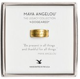 Dogeared Women's Dogered 'Legacy Colelction - Be Present' Ring