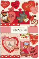 Cavallini & Co. Papers Parcel Vintage Valentines Gift Bags, Petite, Set of 12