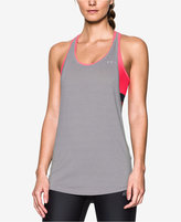Under Armour HeatGear 2-in-1 Mid-Impact Bra Tank Top