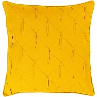 Overstock Miranda Textured 22-inch Poly or Feather Down Filled Throw Pillow