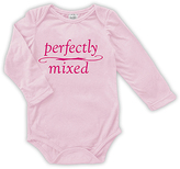 Urban Smalls Pink 'Perfectly Mixed' Long-Sleeve Bodysuit - Infant