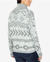 Lucky Brand Cowl-Neck Fringe Sweater