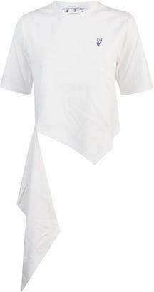 Off-White T-shirt Logos Spiral Draping