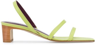 BY FAR Renata leather sandals