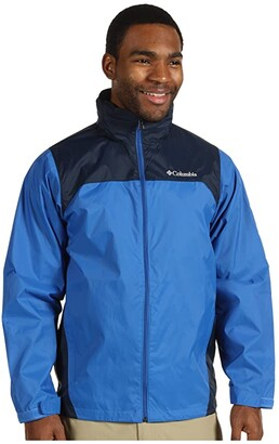 Columbia Glennaker Laketm Rain Jacket (Blue Jay Navy) Men's Coat
