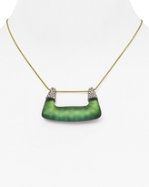 Alexis Bittar Swarovski Crystal Pendant Necklace, 14