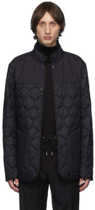 Ermenegildo Zegna Reversible Black Quilted Jacket