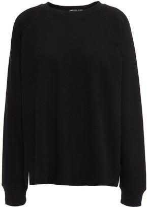 James Perse Cotton-blend Fleece Sweatshirt
