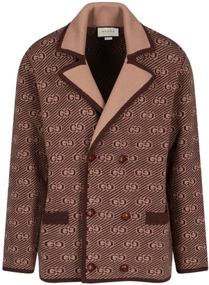 Gucci GG Double-Breasted Coat