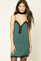 Forever 21 Contemporary Lace Slip Dress