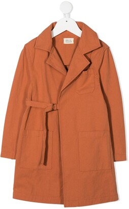 Longlivethequeen Side-Fastening Trench Coat