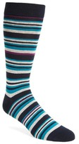 Ted Baker Men's Thin Stripe Crew Socks