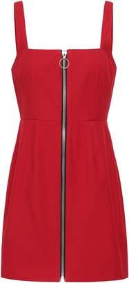 Nicholas Zip-detailed Twill Mini Dress