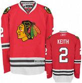 Reebok Men's Duncan Keith Chicago Blackhawks Premier Jersey