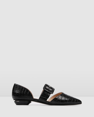 Jo Mercer - Women's Black Ballet Flats - Clover Dress Flats - Size One Size, 37 at The Iconic