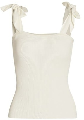 Zimmermann Poppy Square Neck Tank Top