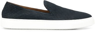 Fratelli Rossetti woven leather loafers